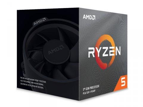AMD Ryzen 5 3600XT 100-100000281BOX 02 PCパーツ CPU(Intel AMD) AMDプロセッサ