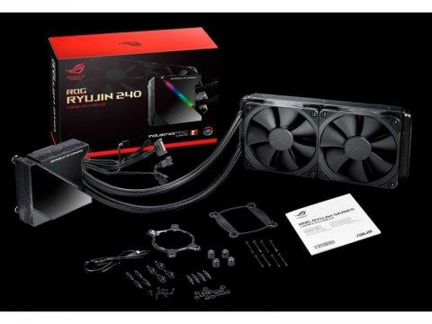ROG RYUJIN 240 02 PCパーツ クーラー   FAN   冷却関連 CPUクーラー