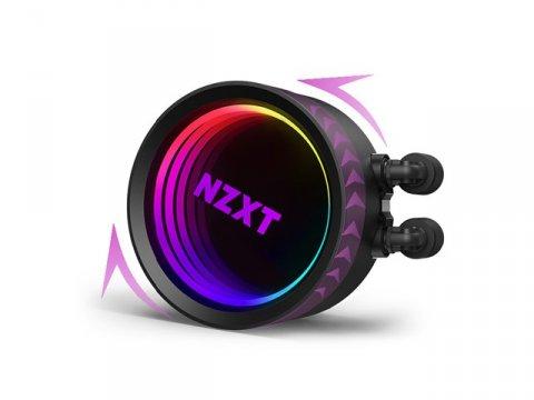 NZXT RL-KRX73-01 KRAKEN X73 02 PCパーツ クーラー   FAN   冷却関連 CPUクーラー