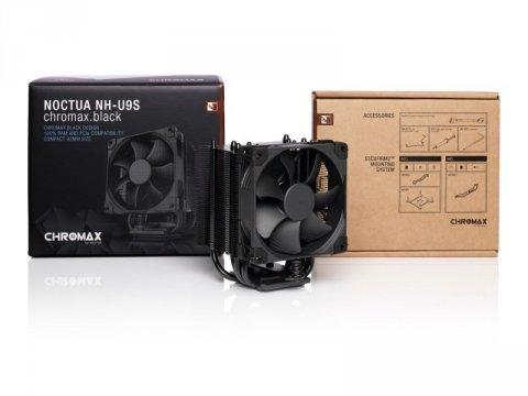 Noctua NH-U9S chromax.black 02 PCパーツ クーラー | FAN | 冷却関連 CPUクーラー