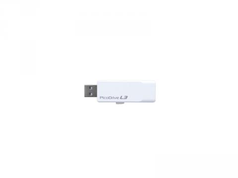 GreenHouse PicoDriveL3 GH-UF3LA8G-WH 02 モバイル フラッシュメモリー USBメモリー