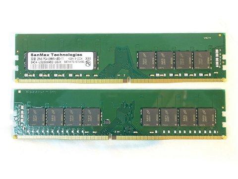 SMD4-U64G88M-26V-D D4 2666 32Gx2 C19 MT 02 PCパーツ SanMaxPC用メモリー デスクトップ用