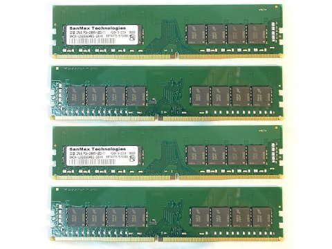 SMD4-U128G88M-26V-Q D4 2666 32Gx4 C19 MT 02 PCパーツ SanMaxPC用メモリー デスクトップ用