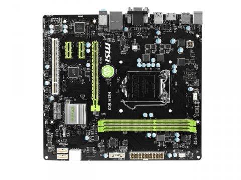 MSI H81M ECO 02 PCパーツ マザーボード | メインボード Intel用メインボード