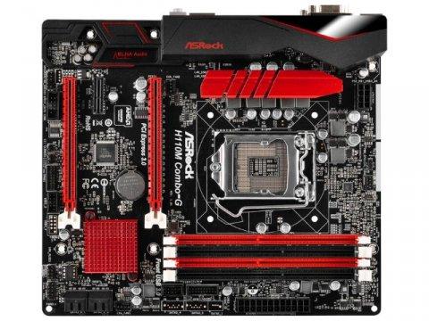 ASRock H110M Combo-G 02 PCパーツ マザーボード | メインボード Intel用メインボード