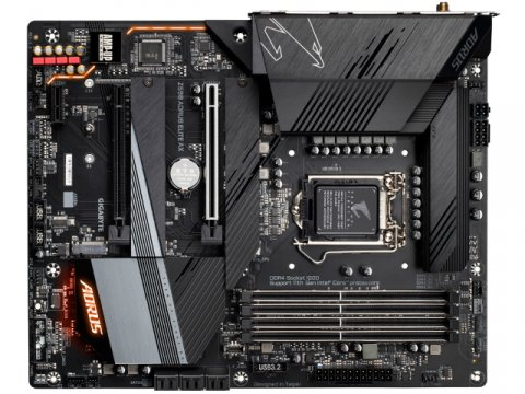 GIGABYTE Z590 AORUS ELITE AX 02 PCパーツ マザーボード | メインボード Intel用メインボード