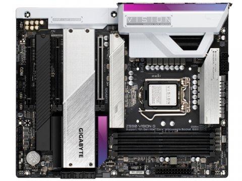 GIGABYTE Z590 VISION G 02 PCパーツ マザーボード | メインボード Intel用メインボード
