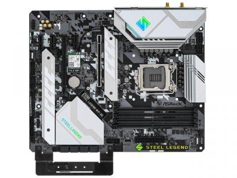 ASRock Z590 Steel Legend WiFi 6E 02 PCパーツ マザーボード   メインボード Intel用メインボード