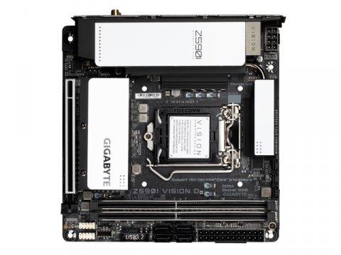 GIGABYTE Z590I VISION D 02 PCパーツ マザーボード | メインボード Intel用メインボード