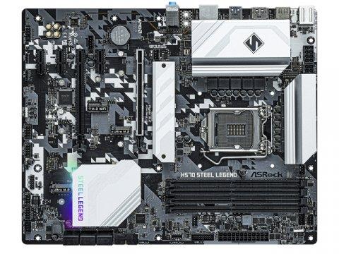 ASRock H570 Steel Legend 02 PCパーツ マザーボード | メインボード Intel用メインボード