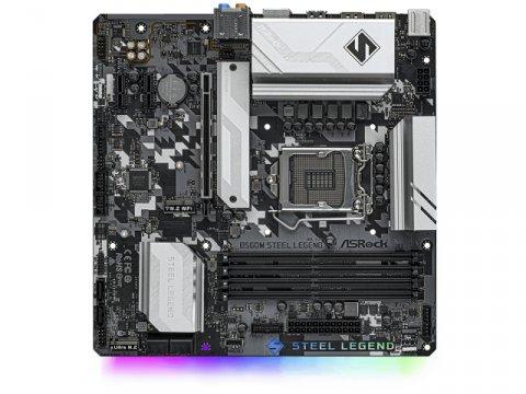 ASRock B560M Steel Legend 02 PCパーツ マザーボード   メインボード Intel用メインボード