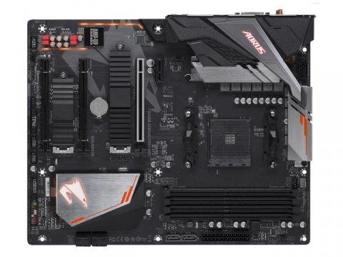 GIGABYTE B450 AORUS PRO WIFI 02 PCパーツ マザーボード | メインボード AMD用メインボード