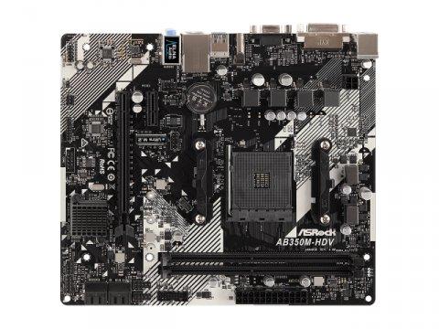ASRock AB350M-HDV R4.0 02 PCパーツ マザーボード | メインボード AMD用メインボード