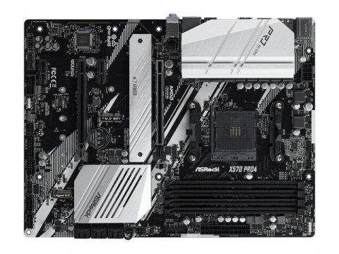 ASRock X570 Pro4 02 PCパーツ マザーボード   メインボード AMD用メインボード