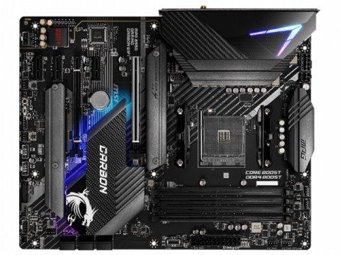 MSI MPG B550 GAMING CARBON WIFI 02 PCパーツ マザーボード | メインボード AMD用メインボード