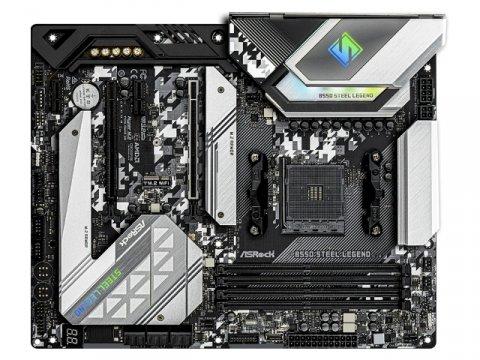 ASRock B550 Steel Legend 02 PCパーツ マザーボード | メインボード AMD用メインボード
