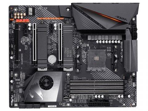 GIGABYTE X570 AORUS PRO Rev1.2 02 PCパーツ マザーボード   メインボード AMD用メインボード