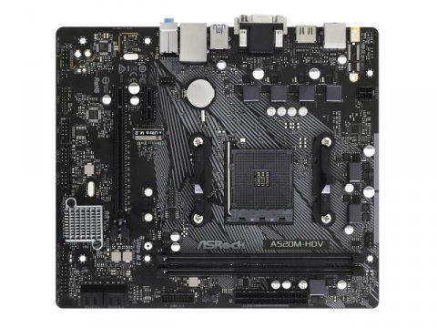 ASRock A520M-HDV 02 PCパーツ マザーボード | メインボード AMD用メインボード