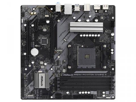 ASRock B550M Phantom Gaming 4 02 PCパーツ マザーボード | メインボード AMD用メインボード