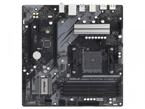 ASRock A520M Phantom Gaming 4 02 PCパーツ マザーボード | メインボード AMD用メインボード
