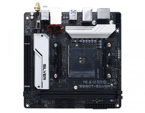 BIOSTAR B550T-SILVER 02 PCパーツ マザーボード | メインボード AMD用メインボード