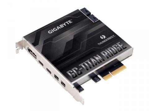 GIGABYTE GC-TITAN RIDGE 2.0 02 PCパーツ マザーボード | メインボード マザーボード拡張パーツ
