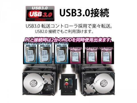 AREA SD-SSU3C Mr.Clone3.0 02 PCパーツ 周辺機器 ストレージケース | NAS HDD関連製品