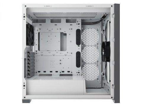 Corsair CC-9011209-WW 5000D TG WHT 02 PCパーツ PCケース | 電源ユニット PCケース