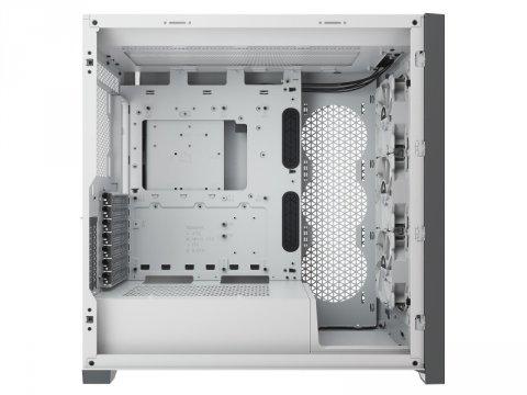 Corsair CC-9011213-WW 5000X RGB TG WHT 02 PCパーツ PCケース | 電源ユニット PCケース