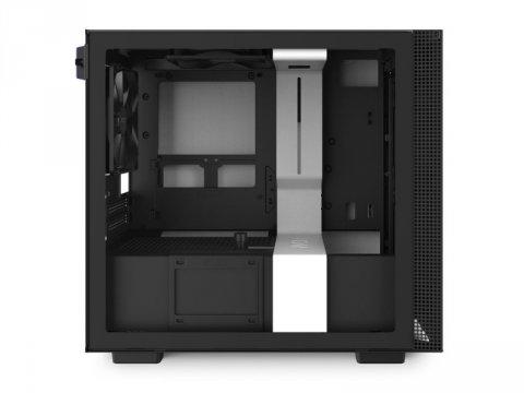 NZXT CA-H210I-W1 H210i 白/黒 02 PCパーツ PCケース | 電源ユニット PCケース