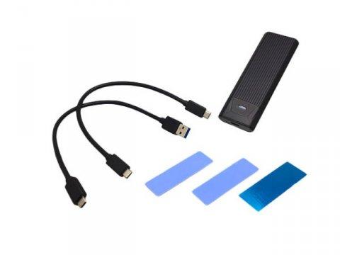 AREA SD-M2DUO 02 PCパーツ 周辺機器 ストレージケース | NAS 外付けケース