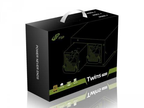 FSP Twins PRO 700W 02 PCパーツ PCケース | 電源ユニット 電源ユニット