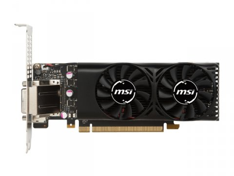 MSI GEFORCE GTX 1050 Ti 4GT LP 02 PCパーツ グラフィック・ビデオカード PCI-EXPRESS