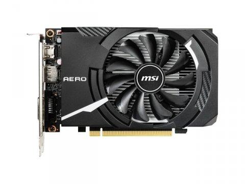 MSI GeForce GTX 1650 AERO ITX 4G OC 02 PCパーツ グラフィック・ビデオカード PCI-EXPRESS