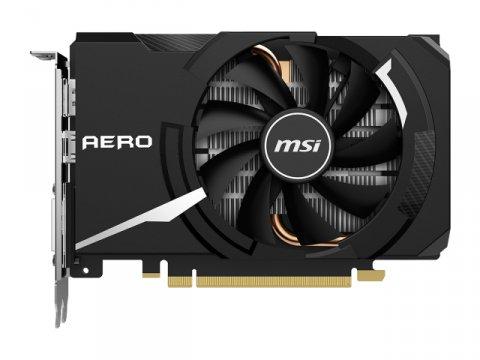 MSI GeForce GTX 1650 SUPER AERO ITX OC 02 PCパーツ グラフィック・ビデオカード PCI-EXPRESS