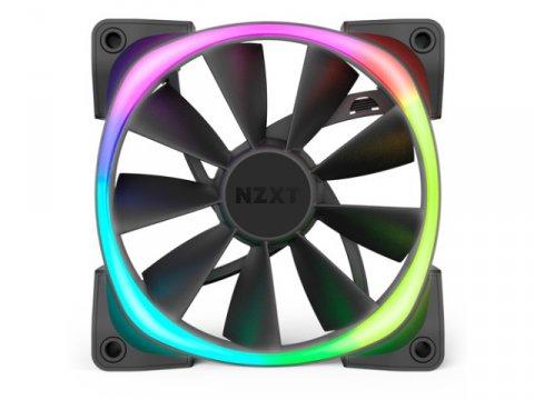NZXT HF-28120-B1 AER RGB2 120mm 02 PCパーツ クーラー   FAN   冷却関連 セカンドファン