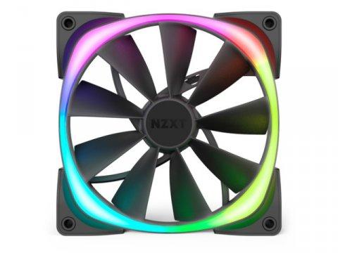 NZXT HF-28140-B1 AER RGB2 140mm 02 PCパーツ クーラー   FAN   冷却関連 セカンドファン