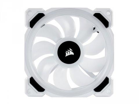 CO-9050091-WW LL120 RGB White Single Fan 02 PCパーツ クーラー | FAN | 冷却関連 セカンドファン