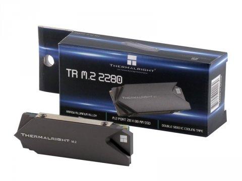 Thermalright TR-M.2 2280 02 PCパーツ ドライブ・ストレージ ストレージクーラー