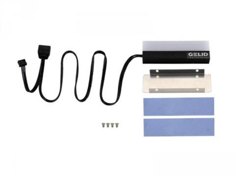 GELID M2-RGB-01 GLINT 02 PCパーツ ドライブ・ストレージ ストレージクーラー
