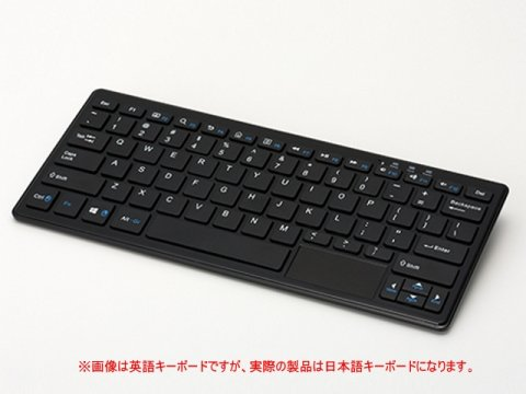 TEKWIND WP004-BK 02 PCパーツ ベアボーン キーボードPC