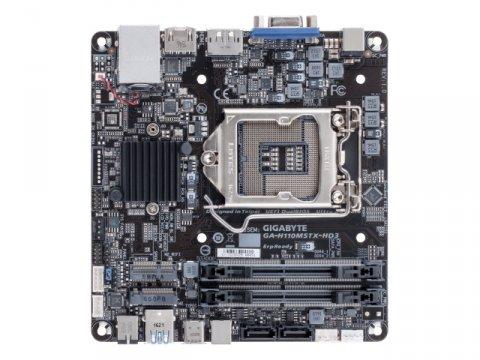 GIGABYTE GA-H110MSTX-HD3-ZK 02 PCパーツ ベアボーン Intel用ベアボーン