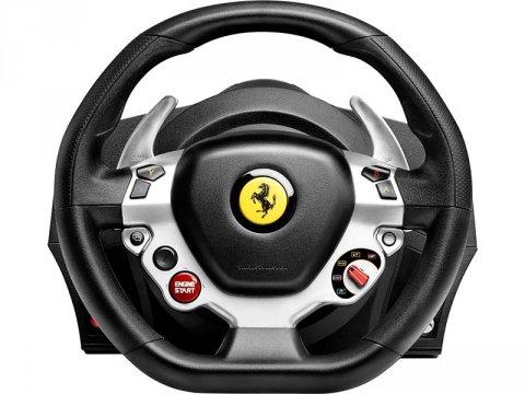 TX Racing Wheel Ferrari 458 Italia Edit 02 ゲーム ゲームデバイス ジョイスティック