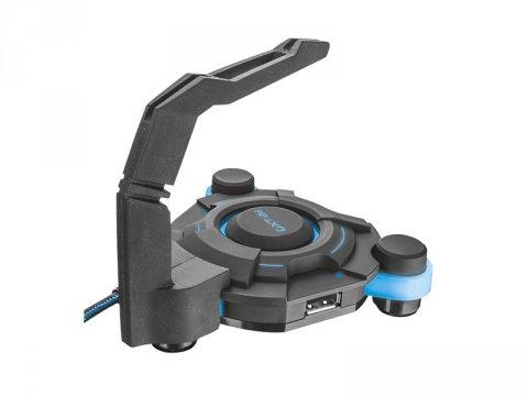 GXT 213 4PUSB HUB-BUNGEE 02 ゲーム ゲームアクセサリー マウスケーブルホルダー