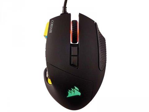 CH-9304011-AP SCIMITAR PRO RGB Yellow 02 ゲーム ゲームデバイス マウス