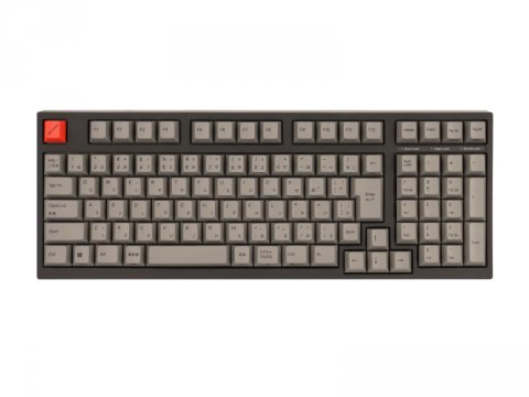 AS-KBM02/LGBA CHERRY MX黒軸 02 周辺機器 ゲーム 入力デバイス キーボード