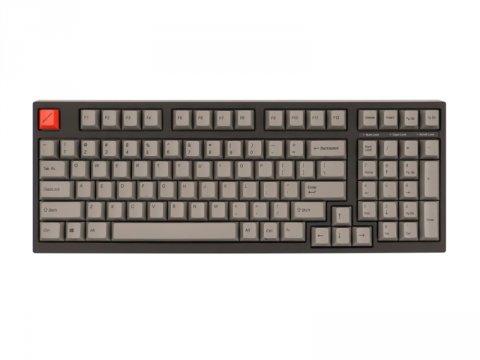 AS-KBM98/LRGB CHERRY MX赤軸 英語 02 PCパーツ 周辺機器 モバイル ゲーム 入力デバイス キーボード