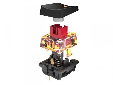 VULCAN TKL RED US /ROC-12-271 02 ゲーム ゲームデバイス キーボード