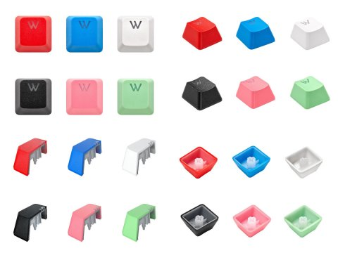 Keycap Mod Kit Black /CH-9911060-JP 02 周辺機器 モバイル ゲーム 入力デバイス キーボード