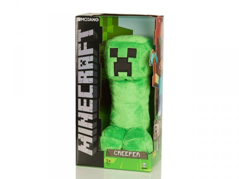 Minecraft 10.5 Creeper Plush W Hang Tag 02 ゲーム その他・趣味 ゲーム関連グッズ ACCESSORIES